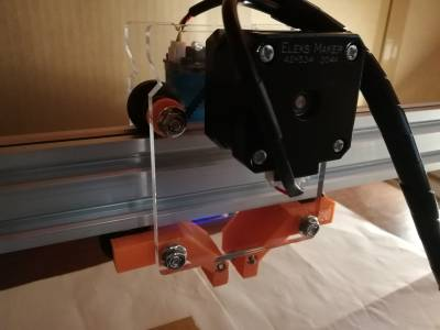 EleksMaker EleksLaser-A3 Pro [tinkering and surroundings]